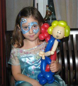 Elsa doll from Frozen theme