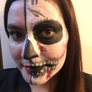 horror face painting from allstarpartyprojects.com